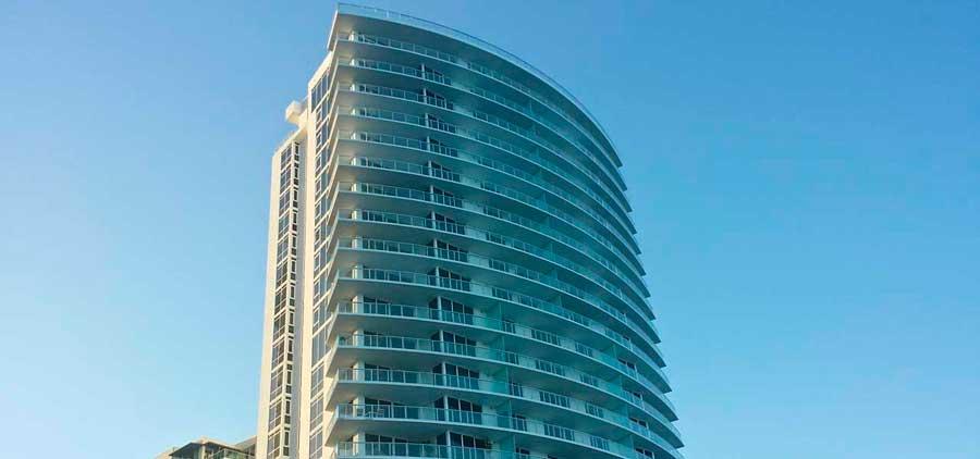 Apogee Seashore condo residences in Hollywood Beach